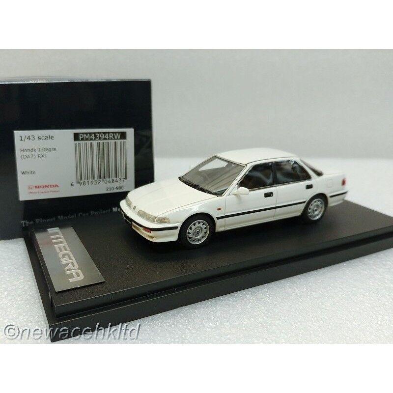 Honda integra (DA7) RXI blancoo Marca 43 1 43  PM4394RW
