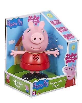 Peppa Pig Toy me suivre Electronic Toy avec jeu de 2 modes de discours /& Musique nouveau