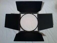 "12 5/8"" Barndoors for Strand Quartzcolor Castor LTM 2k 1.2k HMI fresnel lights"