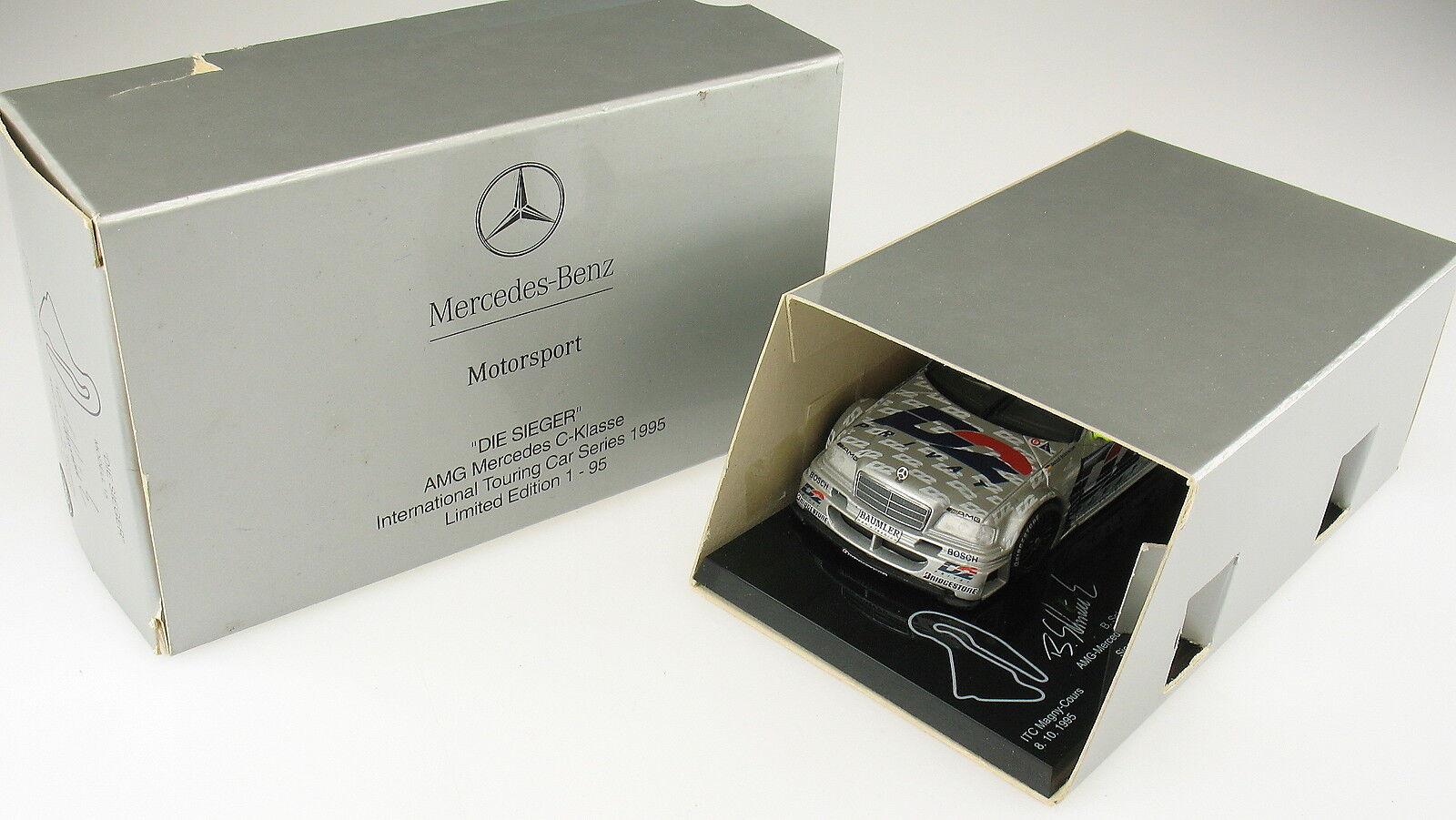 MINICHAMPS - AMG Mercedes C-Klasse - ITC Magny-Cours - 1995 LIMITED 86 95 - 1 43  | Viele Sorten