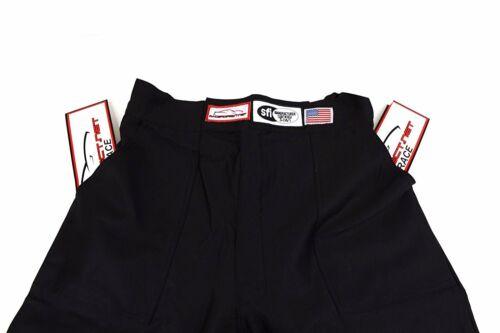JR FIRE SUIT RACE SUIT PANTS SFI 3.2A//1 BLACK SIZE KIDS 8-10