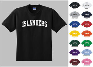 Islanders-College-Letters-Hockey-T-shirt