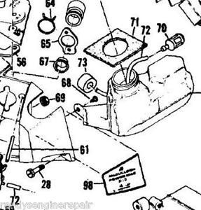 fuel gas line filter mcculloch 310 320 330 340 mac cat