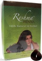 Reshma Henna Powder - Dark Chocolate Color 150g Pack For Hair