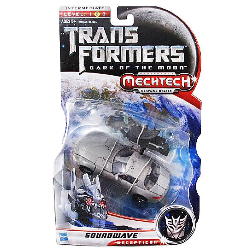 Transformers DOTM Dark of The Moon Deluxe Decepticon Soundwave Nuevo Raro último