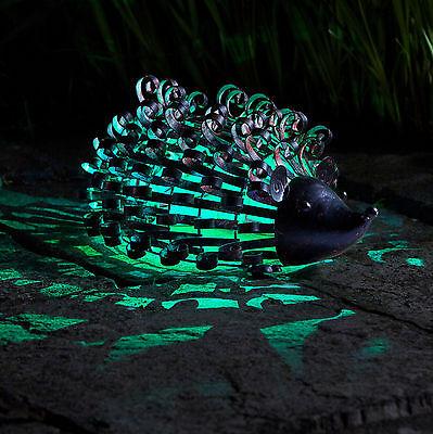Smart Garden Solar Woodstone Inlit Hedgehog Garden Light Figure Ornament