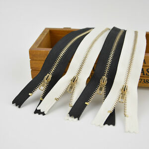 10pcs-Closed-End-Metal-Zip-Zipper-White-Sewing-Zippers-for-Jeans-Trouser-Skirt