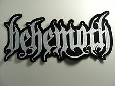 BEHEMOTH  EMBROIDERED BACK PATCH