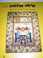 Coffee Girls Quilt Pattern By Jane Tenorio-coscarelli, Pattern And Fabric Inc.