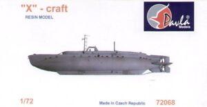Pavla 1/72 X-craft Britannique Nain Sous-marin #72068