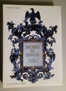 Mobili in Emilia - Graziano Manni - 1986 - NUOVO con Cofanetto - [Simoni Arte] -