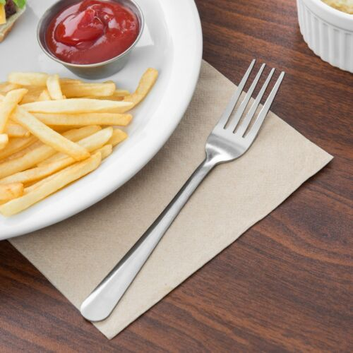 NSF ECONOMY DINNER FORK STAINLESS WINDSOR PATTERN 36 FORKS SHIPS ECONOMY
