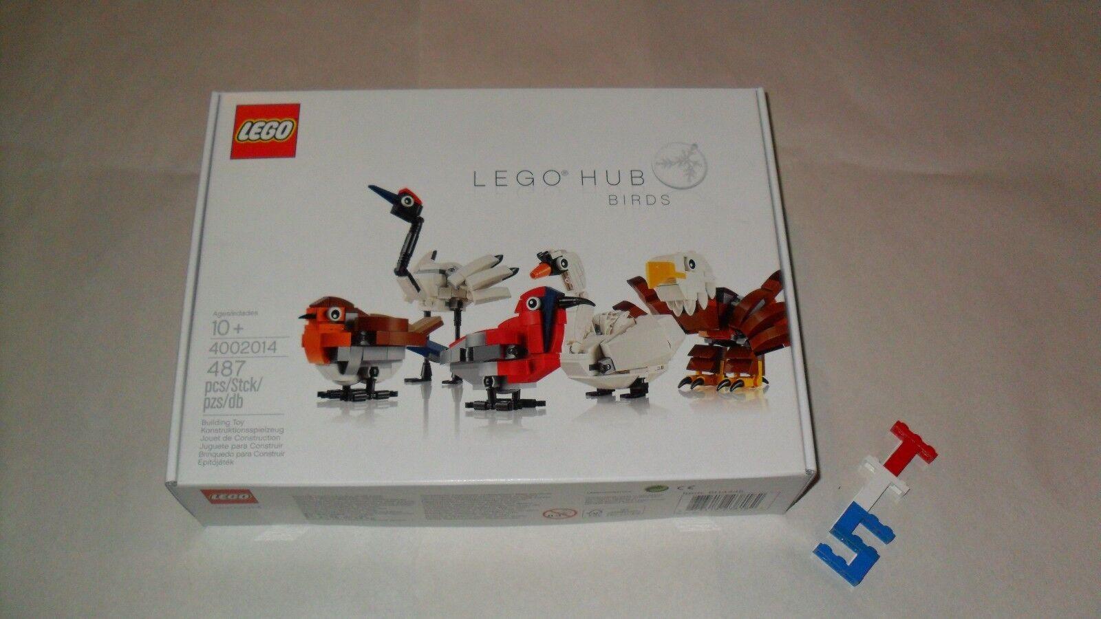 nouveau Sealed Lego 4002014 HUB Birds Exclusive Employee  Gift + Libre Shipping  100% authentique