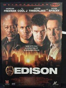 DVD - Comme neuf - EDISON -Zone 2 - MORGAN FREEMAN, JUSTIN TIMBERLAKE