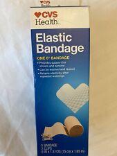 Ship Cvs Walgreens Elastic Wide Xl Ace Bandage 6 In X 1 8 Yd First
