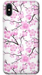 Details About Sakura Cherry Blossoms Phone Case For Iphone Xs Max Xr X 8 7 6 5 4 Plus Se 5c 6s