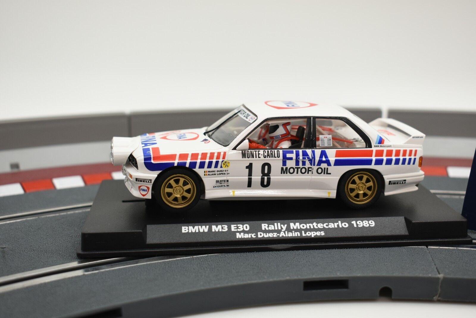 88204 FLY CAR MODEL 1 32 SLOT CAR BMW M3 E30 RALLY MONTECARLO 1989