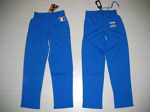 10010 SIZE S JAKED FROM FÉDÉRATION SWIMMING PANTS OFFIZIELL PANTS blueE ITALY