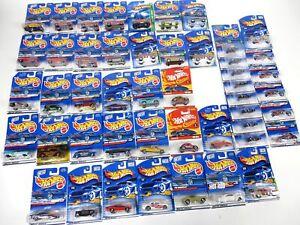 Lot-of-48-Hot-Wheels-Mattel-Hot-Rod-Muscle-Cars-Trucks-Motorcycles-Go-Carts-MOC