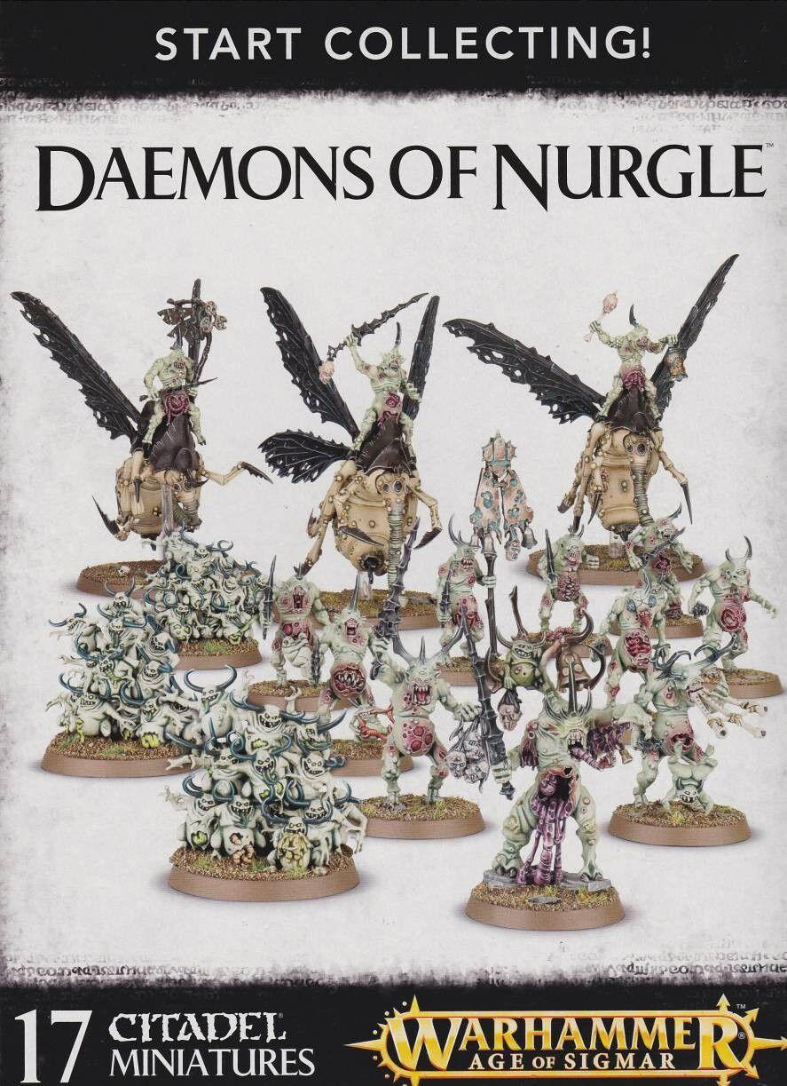 Start collecting daemon of Nurgle Warhammer 40.000 Games Workshop Age of Sigmar