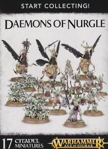 Début Collecte Daemons Of Nurgle Warhammer 40.000 Jeux Atelier Âge De Sigmar