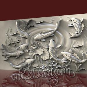 3D STL CNC Model Geese file for CNC Router Carving Machine Printer Relief Artcam Aspire Cut3d