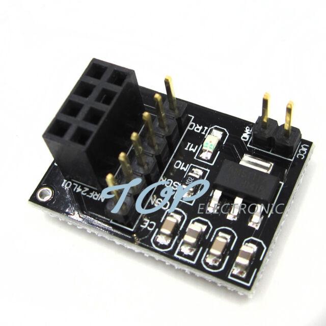 10PCS NEW NRF24L01 2.4GHz Antenna Wireless Transceiver Module GOOD QUALITY