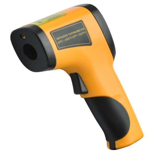 Non-Contact Digital Infrared Thermometer Gun Laser Optical Focus 58 to 1022 F