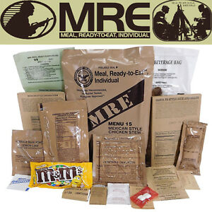 MILITARY-US-ARMY-USA-MRE-NATO-Food-Ratio-Emergency-Survival-Camping-Meal-1-24