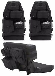 Image Is Loading Smittybilt Black Front Amp Rear Seat Covers