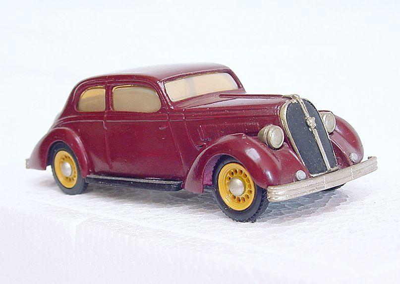 Eligor frankreich 1   43 hotchkiss 1939 weißes metall - auto von hand gebaut ` 78 nm sehr selten