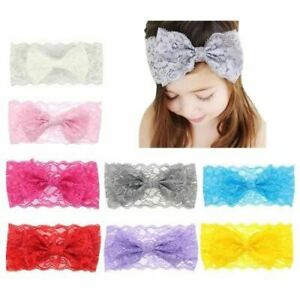8-Pack-Baby-Girl-Solid-Bow-Bunny-Ears-Wide-Lace-Headband-Hair-Bands-Wrap-Turban