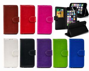 Pour-Apple-iPhone-5-5-S-SE-5-G-Portefeuille-etui-en-Cuir-Flip-Stand-Neuf-Housse-De-Telephone