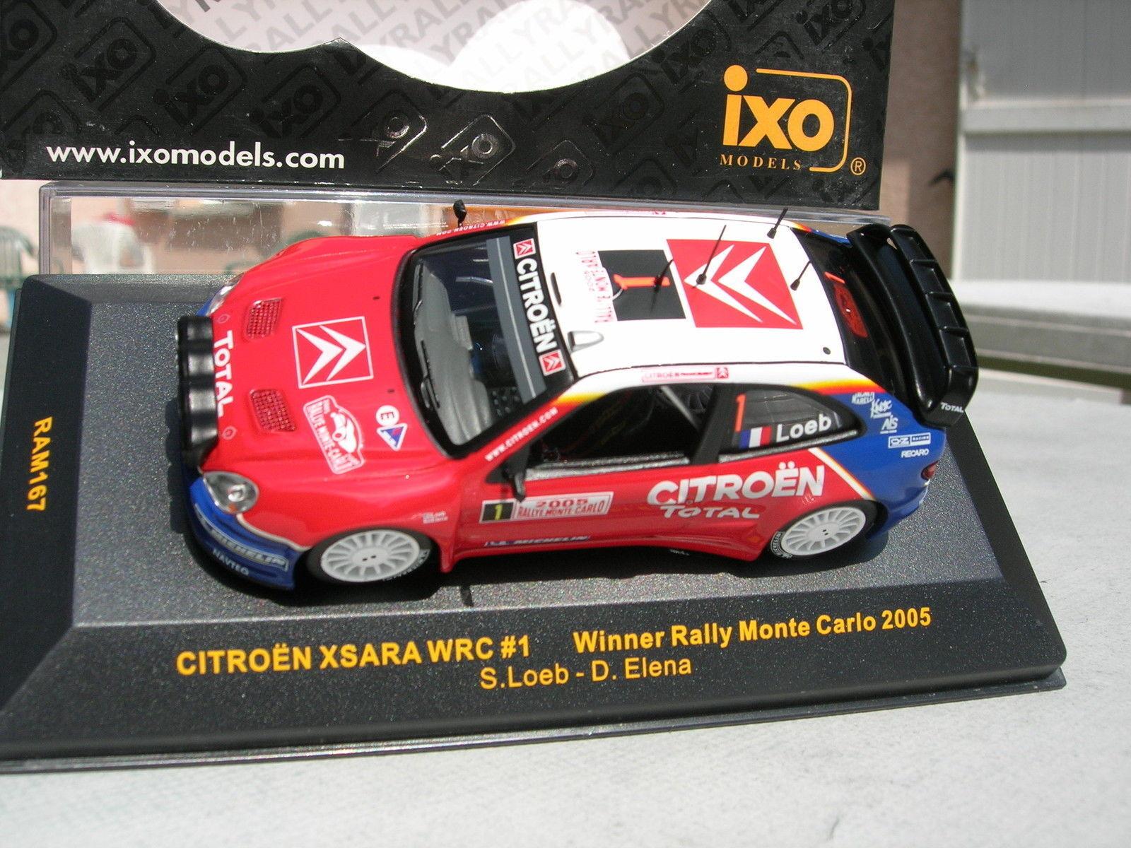 CITROEN XSARA WRC  MONTE CARLO 2005 Loeb Elena  1.43 IXO