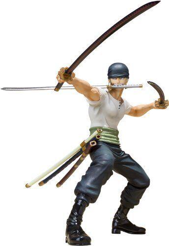 Bandai Roronoa Zoro (versión de batalla)  One Piece  - Figuarts Zero