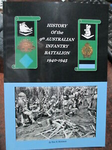 History-of-Australian-9th-Battalion-Battle-of-Milne-Bay-Bougainville-WW2-book