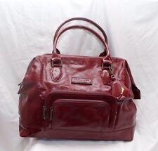 LONGCHAMP Legende Red Bag Patent Leather Handbag Purse Large Doctor Bag $995