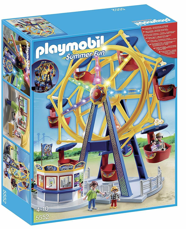 Playmobil®  5552 Noria con Luces - Ferris rueda  with luci  protezione post-vendita