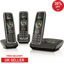 Siemens Gigaset C530A Trio DECT Cordless Phone with Answerphone