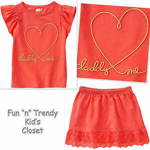 Crazy 8 red dress day heart