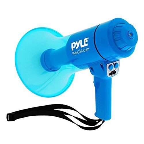 Waterproof Loud Megaphone Bullhorn Flashlight Lightweight Siren Rechargeable
