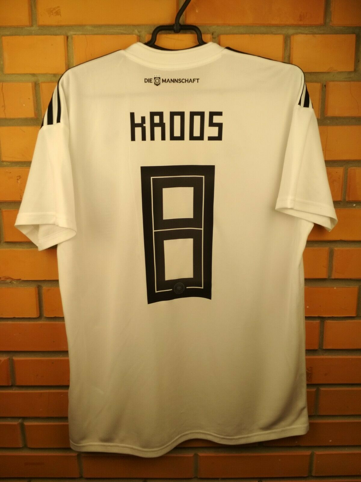 Kroos Germany soccer jersey large 2019 home shirt BR7843 football Adidas