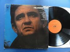 JOHNNY CASH  HELLO IM JOHNNY CASH cbs 69 A1B1 LP VG+