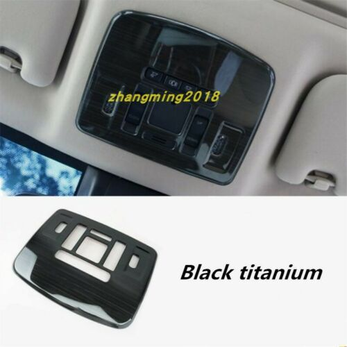 Black titanium Interior Reading Lamp decoration Tirm For Toyota Camry 2018 2019
