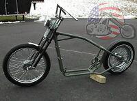 Slammed Springer Rolling Chassis Harley Sportster Rubber Mount Nightster Iron Xl