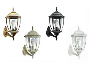 Lanterna da giardino antica lampada a parete applique per esterno
