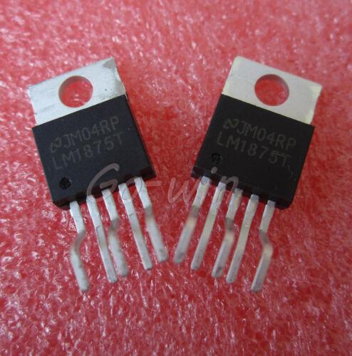 1PCS IC LM1875T AMP AUDIO PWR 30W AB TO220-5 NEW