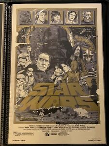 Tyler-Stout-STAR-WARS-A-NEW-HOPE-Variant-Mondo-Movie-Poster-Print-Signed