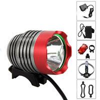 Super Bright 5000lm Xml U2 Led Head Bicycle Bike Light Lamp Headlamp Laser Light
