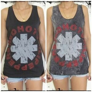Unisex-Red-Hot-Chili-Peppers-Vest-Tank-Top-Singlet-T-Shirt-Sizes-S-M-L-XL